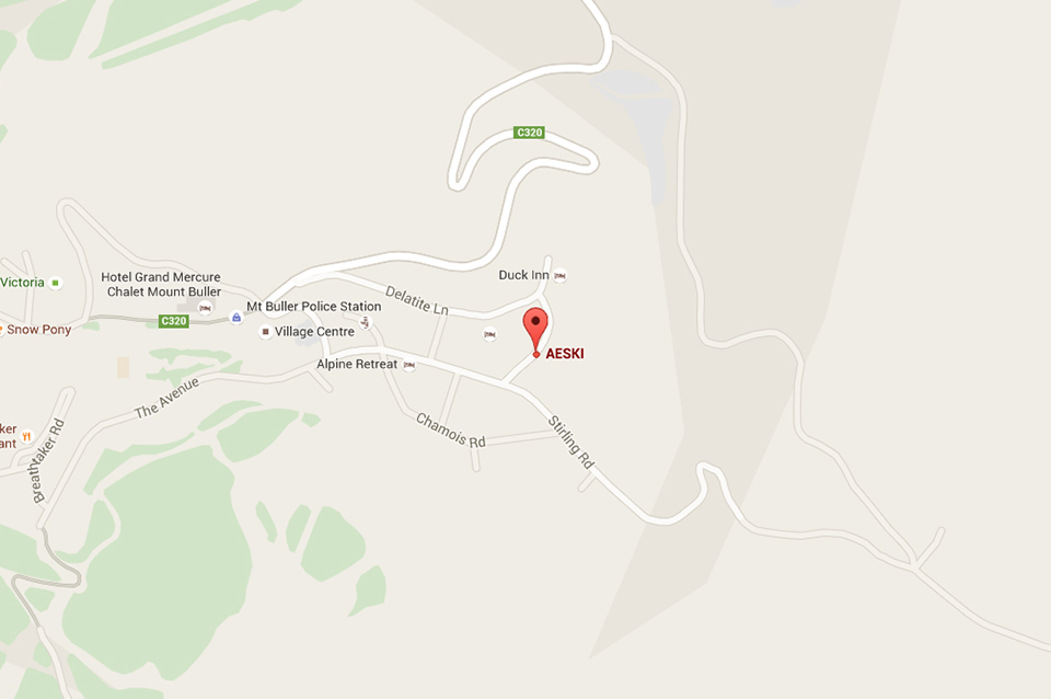 Aeski Lodge Accommodation Location - Mt Buller